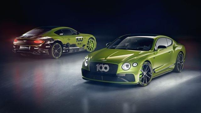 Bentley launches a limited edition of its Continental GT to celebrate Pikes Peak record
