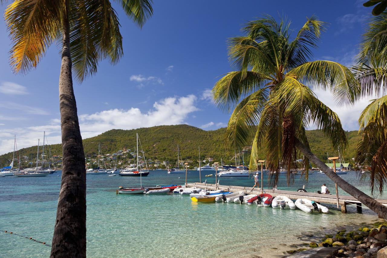 "<p>Tucked into the lush embrace of St. Vincent and the Grenadines in the Caribbean, this barefoot-boho sister to Mustique has an up-and-coming chic that now includes bespoke jet service from Barbados via <a href=""https://www.bequiaair.com/"">Bequia Air</a> to one of its resorts, the charming <a href=""https://www.bequiabeachhotel.com/"">Bequia Beach Hotel. </a> </p>"