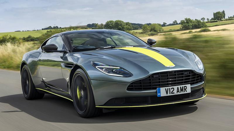 Aston Martin DB AMR First Drive Catch Me If You Can - Aston martin near me