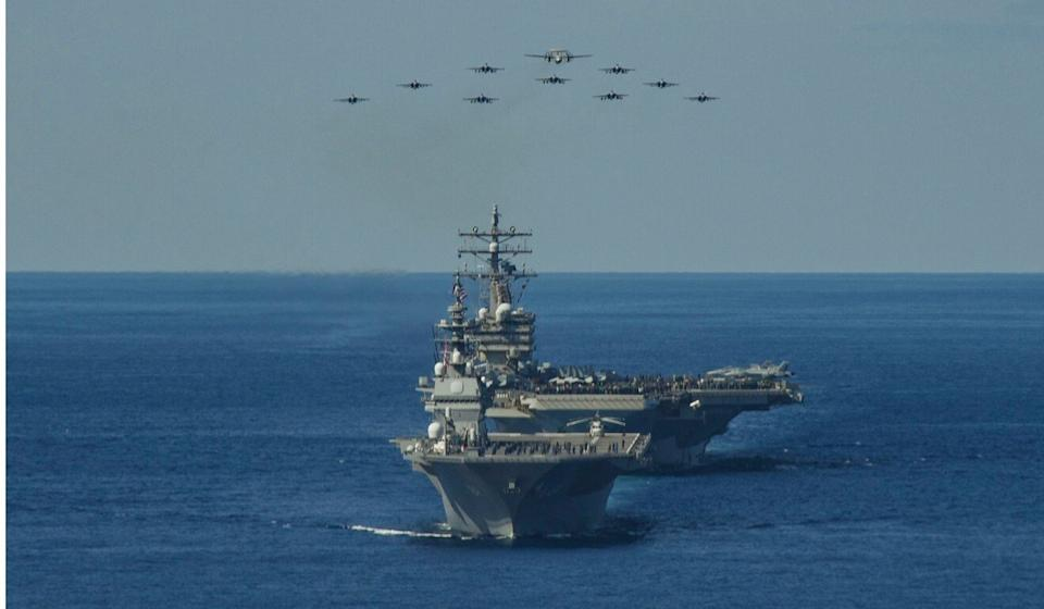 This year's drill takes place amid heightened tensions between Washington and Beijing. Photo: US Pacific Fleet