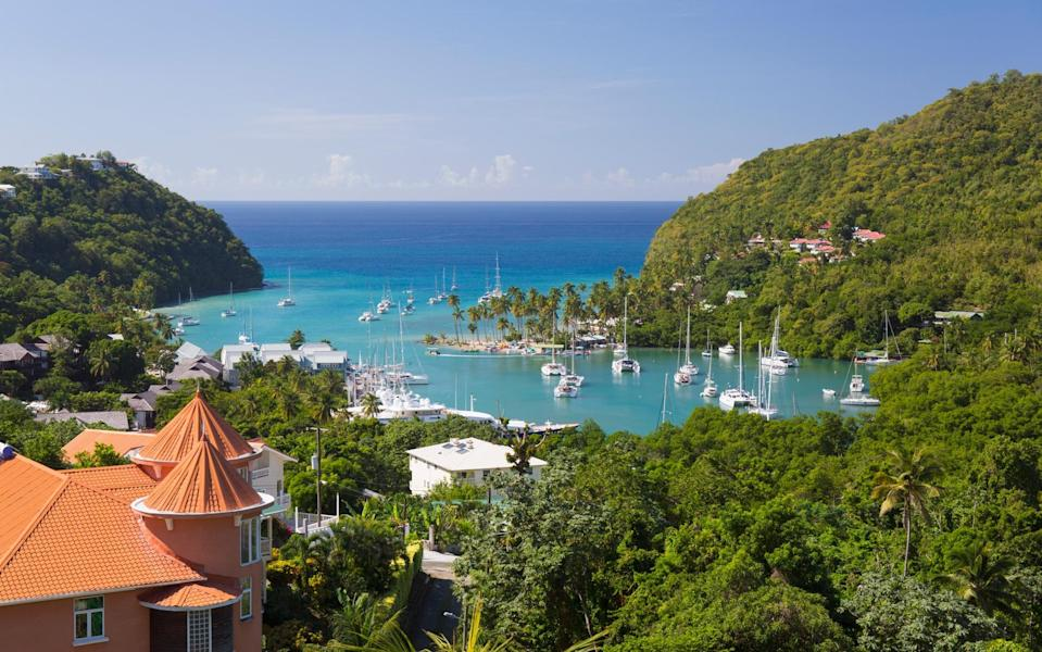 st lucia - Getty