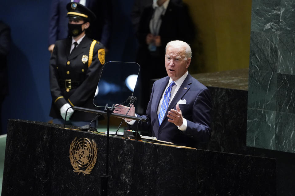 Bidenomics: £47bn in extra investment needed to boost UK economic recovery. Photo: Evan Vucci/AP