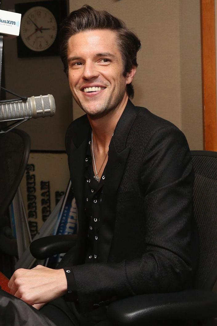 """<p>Lead singer of<em> The Killers</em>, Brandon Flowers, revealed that engaging in alcohol use during the early years of the band's success truly helped him to decide which path he wanted to follow when he became a father. Flowers has now been embracing the sober life for much of the later half of his career. </p><p><em>[h/t <a href=""""http://www.npr.org/2015/05/26/409671982/desired-effect-reveals-how-important-family-is-to-rocker-brandon-flowers"""" rel=""""nofollow noopener"""" target=""""_blank"""" data-ylk=""""slk:NPR"""" class=""""link rapid-noclick-resp"""">NPR</a></em></p>"""
