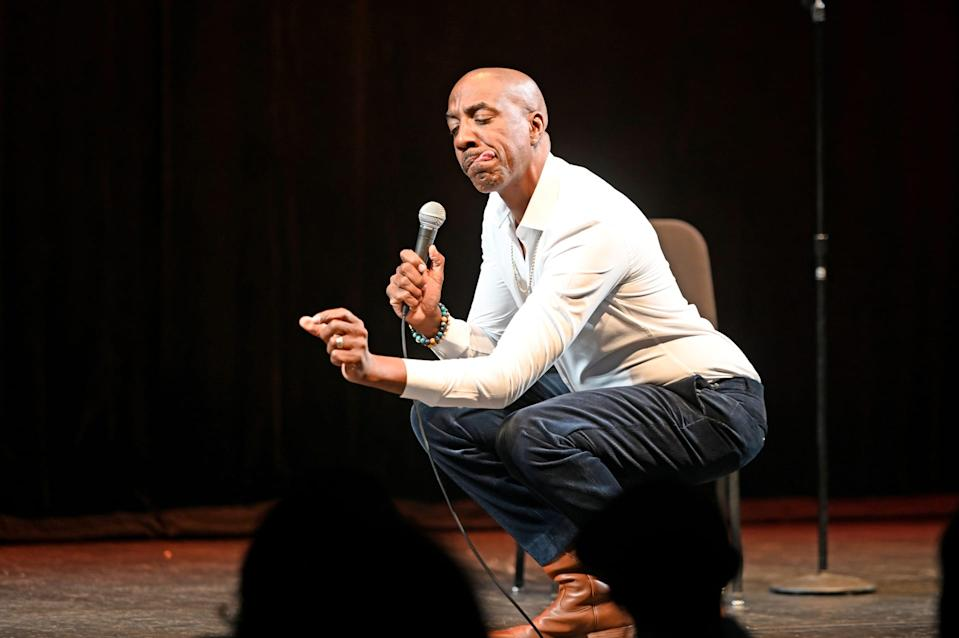 JB Smoove performs at Bomhard Theater on October 25, 2019 in Louisville, Kentucky
