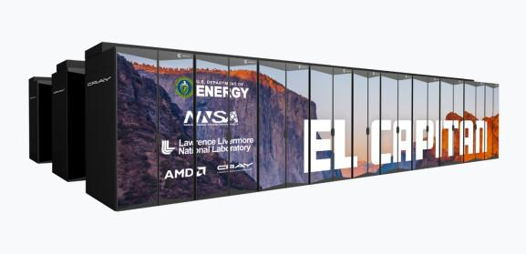 AMD has chips in the HPE El Capitan supercomputer coming in 2023.