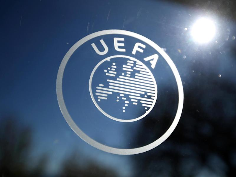 General view of the Uefa logo: REUTERS