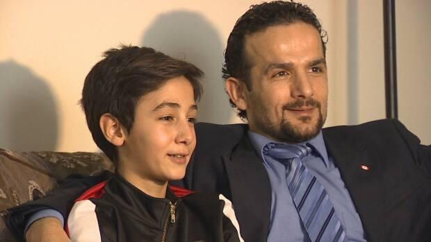 Muhammed Babilli and his family were part of an 8-part series by CBC P.E.I. called I Live Here Now. (Laura Meader/CBC - image credit)