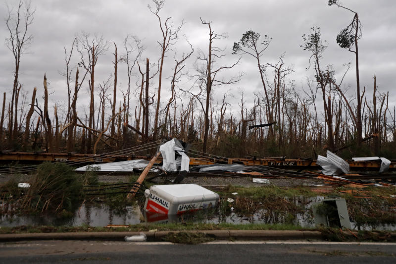 Live updates: Michael kills 6, leaves trail of devastation in