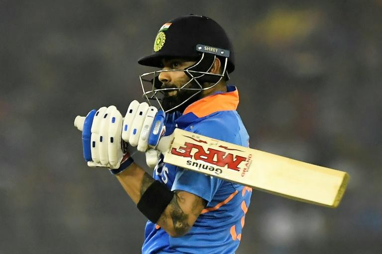 India's captain Virat Kohli smashed 85 to help India chase 316 to win by four wickets against West Indies