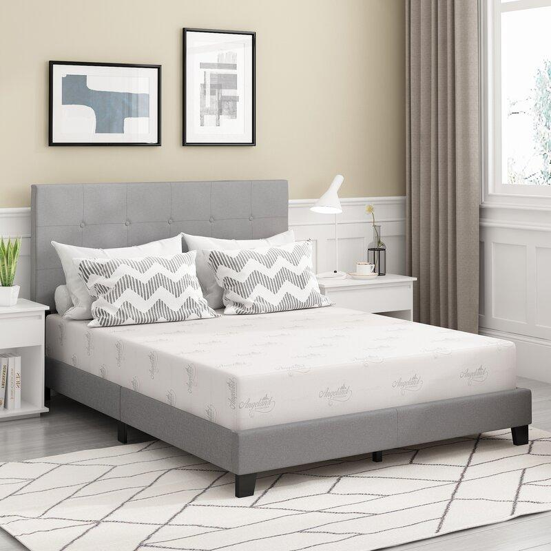 "Alwyn Home 10"" Medium Gel Memory Foam Mattress (Photo: Wayfair)"
