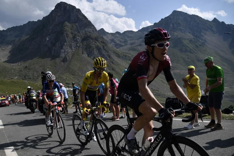 Defending champion Geraint Thomas is expected to make his move in the Alps