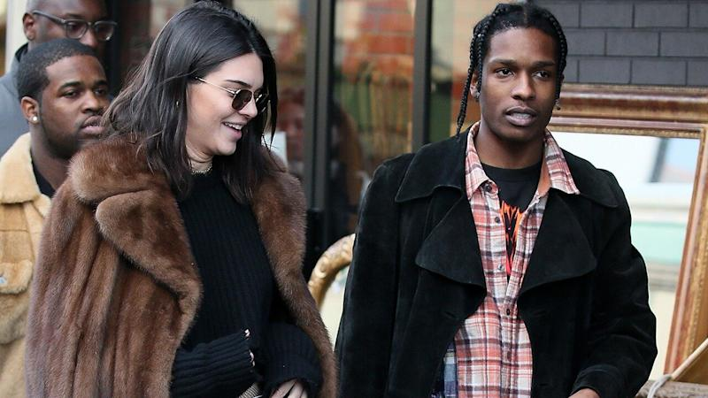 A$AP Rocky Reunites With Rumored Ex Kendall Jenner After Being Released From Swedish Jail