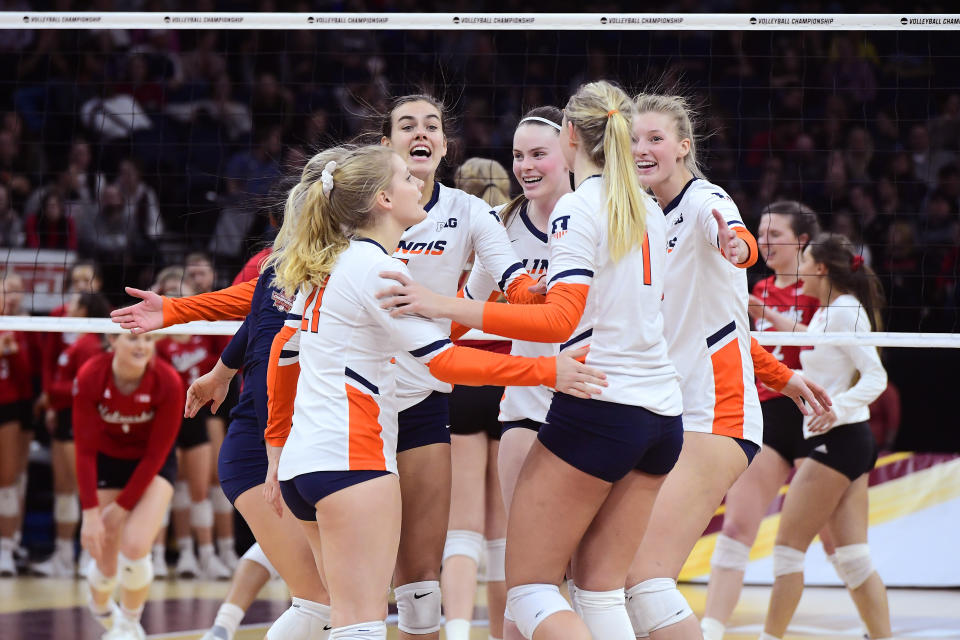 Best sport: women's volleyball. Trajectory: steady. The Illini have their niche strengths, from volleyball to golf to tennis to gymnastics. What they don't have, and haven't had at any point in the last five years, is any input from football and men's basketball. That's a problem.