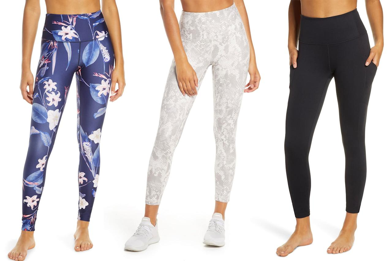 """When it comes to working out, nothing motivates us to get our butts to the gym more than a cute new workout outfit. And if you want <a href=""""https://click.linksynergy.com/deeplink?id=93xLBvPhAeE&mid=1237&murl=https%3A%2F%2Fshop.nordstrom.com%2Fs%2Fzella-live-in-high-waist-crop-leggings%2F4698794&u1=PEO%2CShopping%3ATheseLeggingsAreWayTooAffordableforHowAwesomeTheyAre%28ShopThemNow%21%29%2Ckamscram%2CUnc%2CGal%2C5868721%2C201908%2CI"""" target=""""_blank"""" rel=""""nofollow"""">a pair of leggings</a> that will make your butt look good instantaneously, then score a pair from Zella, the beloved retailer's exclusive and super affordable activewear line. Not only do these <a href=""""https://click.linksynergy.com/deeplink?id=93xLBvPhAeE&mid=1237&murl=https%3A%2F%2Fshop.nordstrom.com%2Fc%2Fwomens-pants-leggings%2Ffilter%2Fzella%7Ebrand_5227&u1=PEO%2CShopping%3ATheseLeggingsAreWayTooAffordableforHowAwesomeTheyAre%28ShopThemNow%21%29%2Ckamscram%2CUnc%2CGal%2C5868721%2C201908%2CI"""" target=""""_blank"""" rel=""""nofollow"""">under-$100 styles</a> look expensive, but they also lift, firm, and sculpt in all the right places. Scroll through to shop our favorite Zella leggings and get ready to turn heads during your next sweat sesh."""