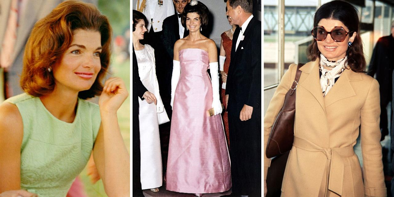 <p>Jacqueline Kennedy Onassis is undeniably one of the greatest style icons of the last century. Click through to see her most memorable looks through the years.</p>