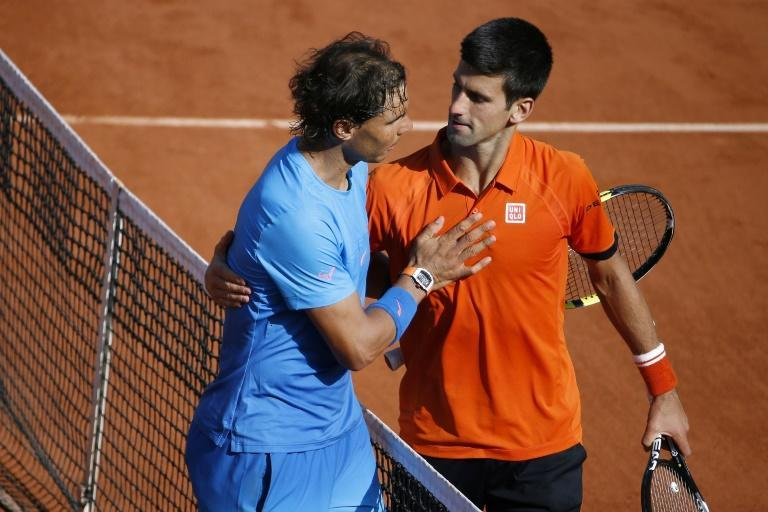 That was then: Nadal and Djokovic after the 2015 quarter-final