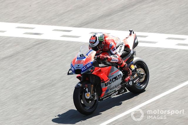 "#99 Jorge Lorenzo <span class=""copyright"">Gold and Goose / Motorsport Images</span>"