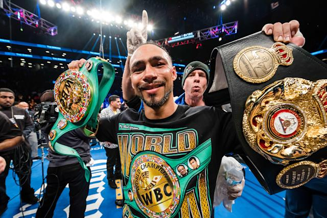 Keith Thurman's welterweight title unification victory over Danny Garcia on March 4 on CBS drew more than 5 million viewers. (Getty Images)