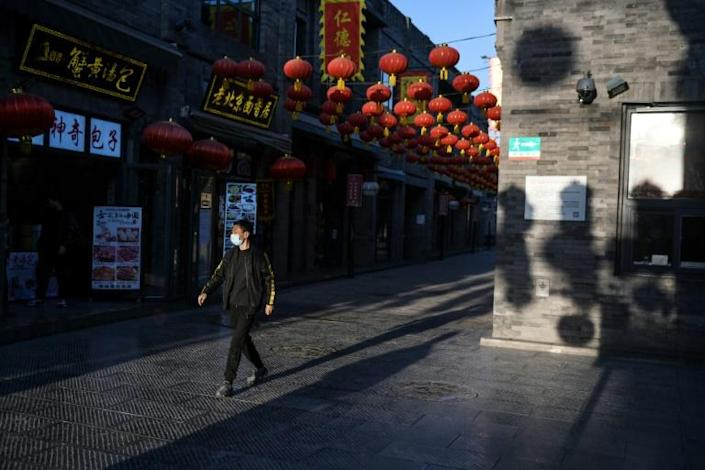 The situation has exposed animosities over class and privilege in Chinese society (AFP Photo/GREG BAKER)