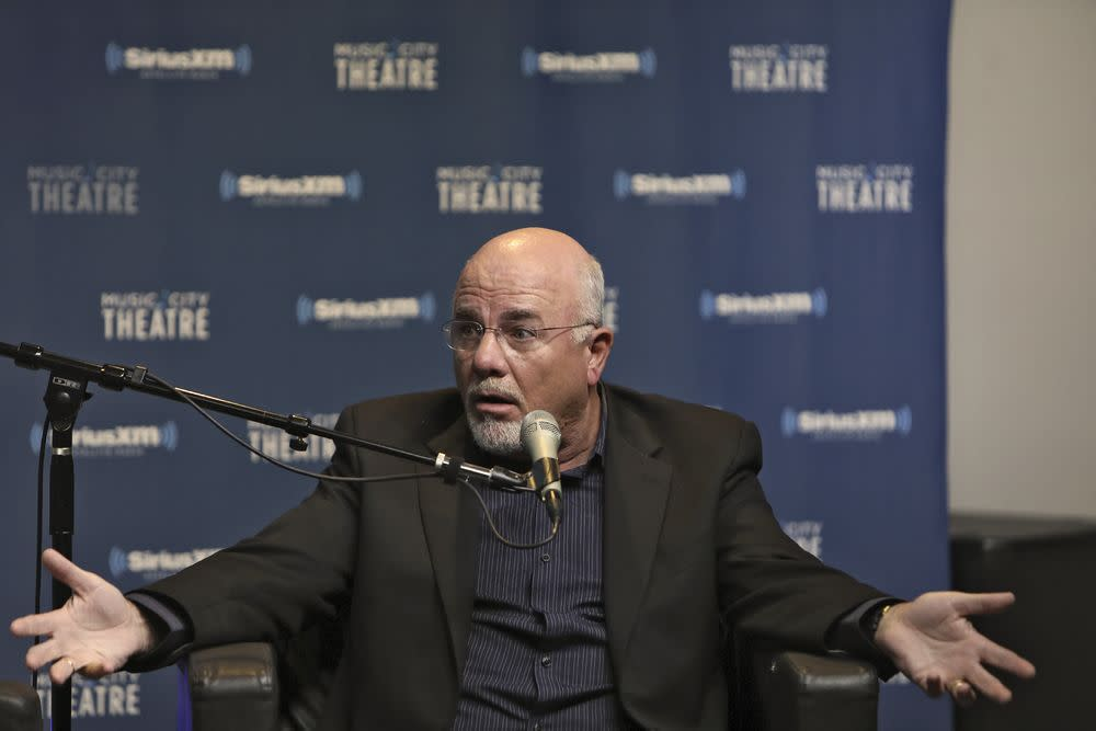 In rant we trust: Dave Ramsey's network encompasses radio, TV, live events, and millions across multiple social media channels. | Anna Webber—Getty Images for SiriusXM.