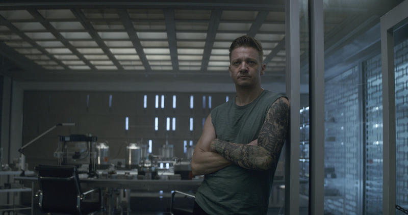 "Hawkeye/Clint Barton (Jeremy Renner) in a scene from Marvel Studios' Avengers: Endgame. he global box office has a new king in ""Avengers: Endgame."" The superhero extravaganza the weekend of July 20 has usurped ""Avatar"" to become the highest grossing film of all time, with an estimated $2.79 billion in worldwide grosses in just 13 weeks.(Film Frame/Marvel Studios 2019 via AP)"