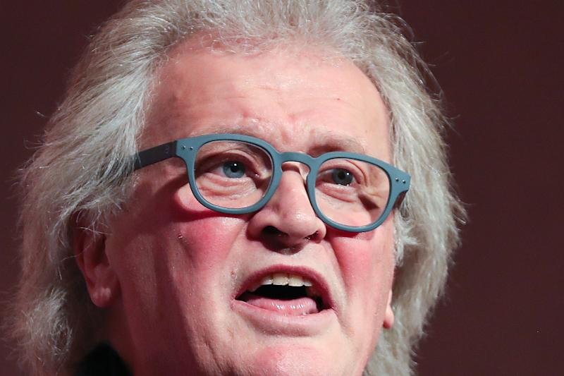 "Wetherspoon's Chairman Tim Martin speaks at a political rally organised by the pro-Brexit Leave Means Leave campaign group in central London on December 14, 2018. - The Leave Means Leave group, supported by political figures like ERG chairman Jacob Rees-Mogg and former UKIP leader Nigel Farage, held a political rally to ""Save Brexit"" as the latest Brexit summit in Brussels leaves Theresa May facing a dwindling number of options over Britain's exit from the EU. The 27 leaders made abundantly clear to the British prime minister that the draft withdrawal agreement they reached after nearly two years of talks was not open to change. (Photo by Daniel LEAL-OLIVAS / AFP) (Photo credit should read DANIEL LEAL-OLIVAS/AFP via Getty Images)"