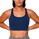 """<p><strong>Roam Loud</strong></p><p>roamloud.com</p><p><strong>$40.00</strong></p><p><a href=""""https://roamloud.com/collections/all/products/kuwaa-top-navy-blue-top"""" rel=""""nofollow noopener"""" target=""""_blank"""" data-ylk=""""slk:Shop Now"""" class=""""link rapid-noclick-resp"""">Shop Now</a></p><p>Founder Toyin Omisore created Roam Loud to be a premium activewear and athleisure apparel brand that made her feel seen. As she states on the brand's website, """"I wanted to unapologetically create a lifestyle where brown skin is at the forefront and not an afterthought."""" With darker complexions in mind, you'll find a set that complements you, inside and out. </p><p><em>Style Pictured Available in S- to XL</em></p>"""