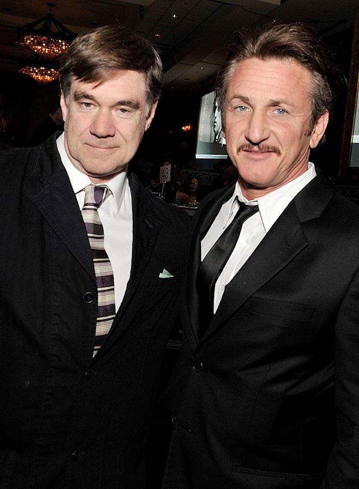 """<a href=""""http://movies.yahoo.com/movie/contributor/1800024107"""">Gus Van Sant</a> and <a href=""""http://movies.yahoo.com/movie/contributor/1800019044"""">Sean Penn</a> at the 61st Annual Directors Guild of America Awards in Los Angeles - 01/31/2009"""