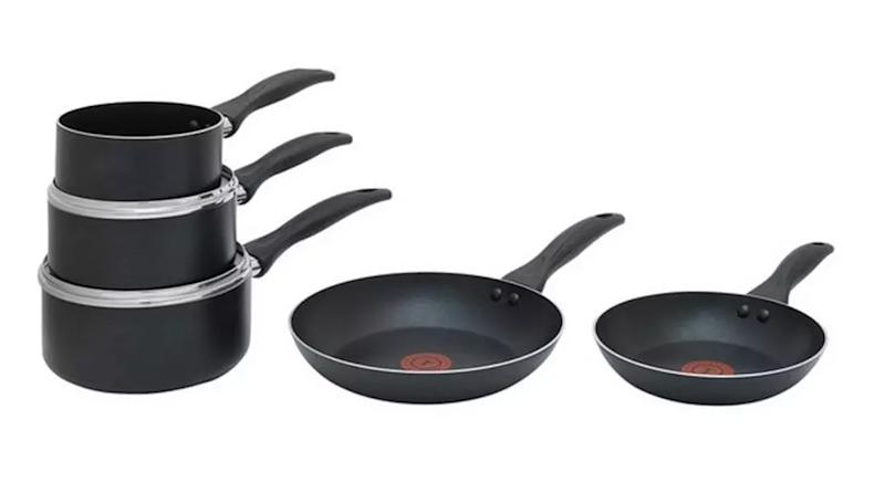 Tefal Easycare 5 Piece Non Stick Pan Set