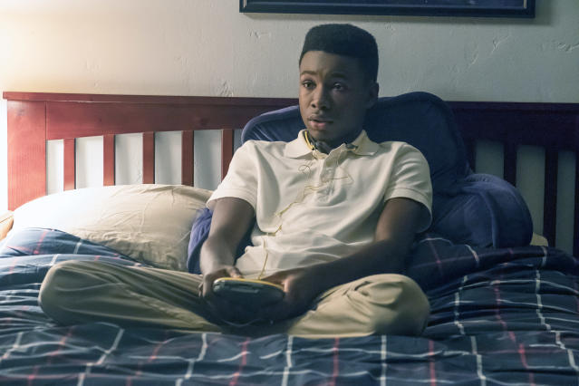 <p>Niles Fitch as Randall in NBC's <i>This Is Us</i>.<br>(Photo: Ron Batzdorff/NBC) </p>