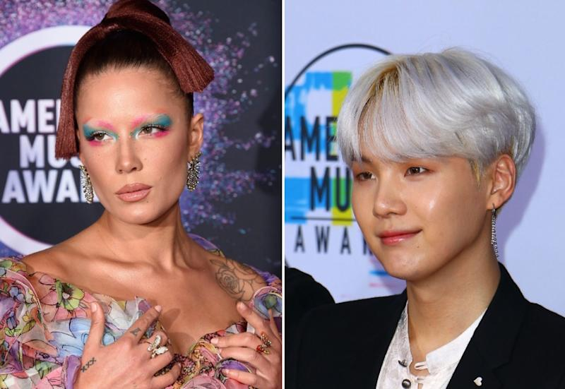 Halsey, BTS member Suga team up on new song