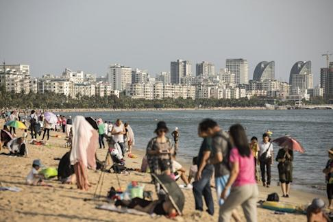 Hainan is popular as a holiday destination. Photo: Bloomberg