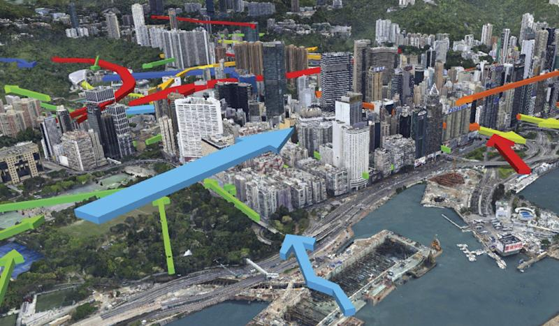 New 3D mapping system with one-stop data source allows Hong Kong planners to build urban sites SimCity style