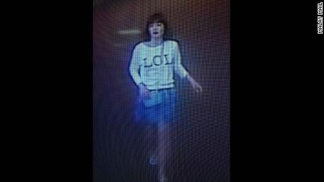 Vietnamese Doan Thi Huong was filmed practicing at the airport two days before the incident