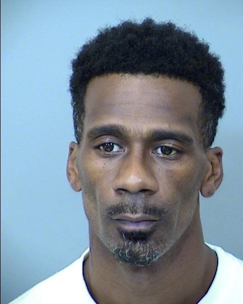 This photo provided by Maricopa County Sheriff's Office Antoine Suggs, one of two men suspected in the shooting deaths of four people whose bodies were found in an abandoned SUV in Wisconsin has been arrested in Arizona. Suggs turned himself in to police in Gilbert, Ariz., on Friday, Sept. 17, 2021(Maricopa County Sheriff's Office via AP)