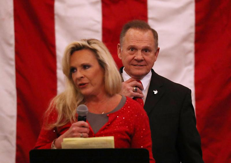 Roy Moore's wife claimed her husband isn't anti-semitic in the most anti-semitic way possible