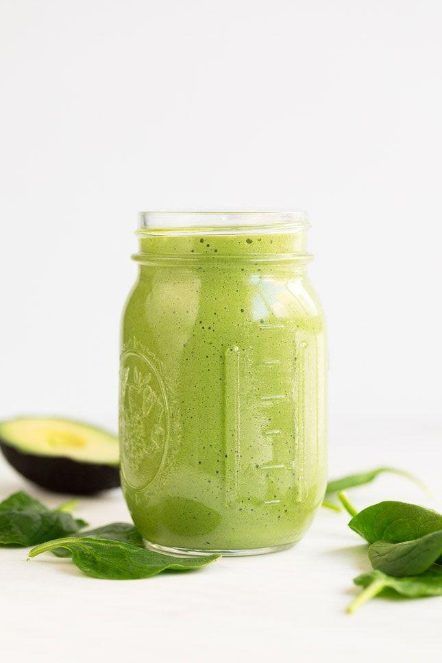 """<p>Mediterranean breakfasts can be vegan, too! This one makes the cut because it combines spinach, banana, and dates with the healthy fats from avocado.</p><p><a href=""""https://simpleveganblog.com/avocado-smoothie/"""" rel=""""nofollow noopener"""" target=""""_blank"""" data-ylk=""""slk:Get the recipe from Simple Vegan Blog »"""" class=""""link rapid-noclick-resp""""><strong><em>Get the recipe from Simple Vegan Blog »</em></strong></a></p>"""
