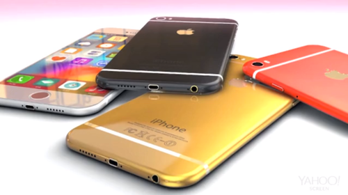 Artist's mockup of the iPhone 6