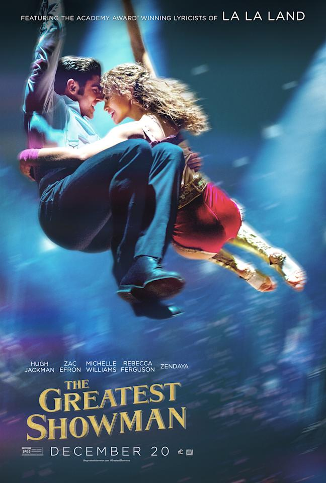 <p>Zac Efron plays Phillip Carlyle, an initially skeptical writer who becomes Barnum's partner and friend. Zendaya plays Anne Wheeler, a trapeze artist in Barnum's show who becomes the object of Phillip's affection.<br />(Image: 20th Century Fox) </p>