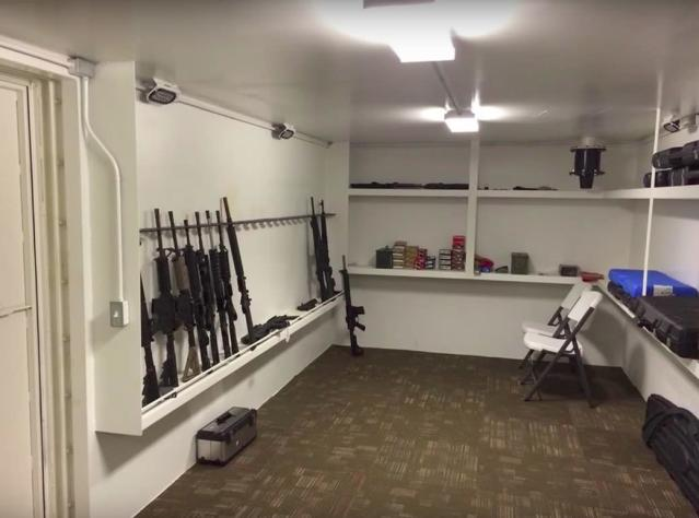 One of Rising S Company's bunkers comes with a gun storage room.