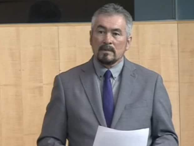 Deh Cho MLA Ronald Bonnetrouge wants regional input on the territory's cultural competency training because of 'alarming' issues at health centres and with social services.  (CBC - image credit)