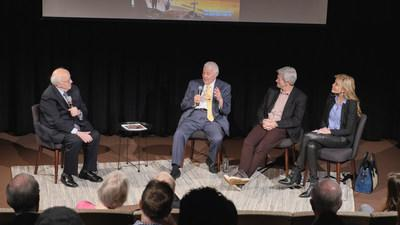 Dr. Richard Mouw leads a discussion with Elder John H. Groberg, Mitch Davis, and Shawn King about creating dialogue between Mormons and other Christian denominations after a screening of The Other Side of Heaven 2: Fire of Faith at The Fuller Seminary in Pasadena, CA. The film opens nationwide this Friday, June 28.