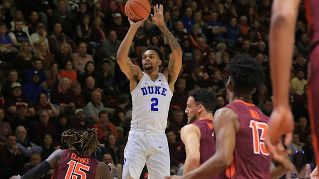 Trent averaged 14.5 points per game during his one season at Duke.