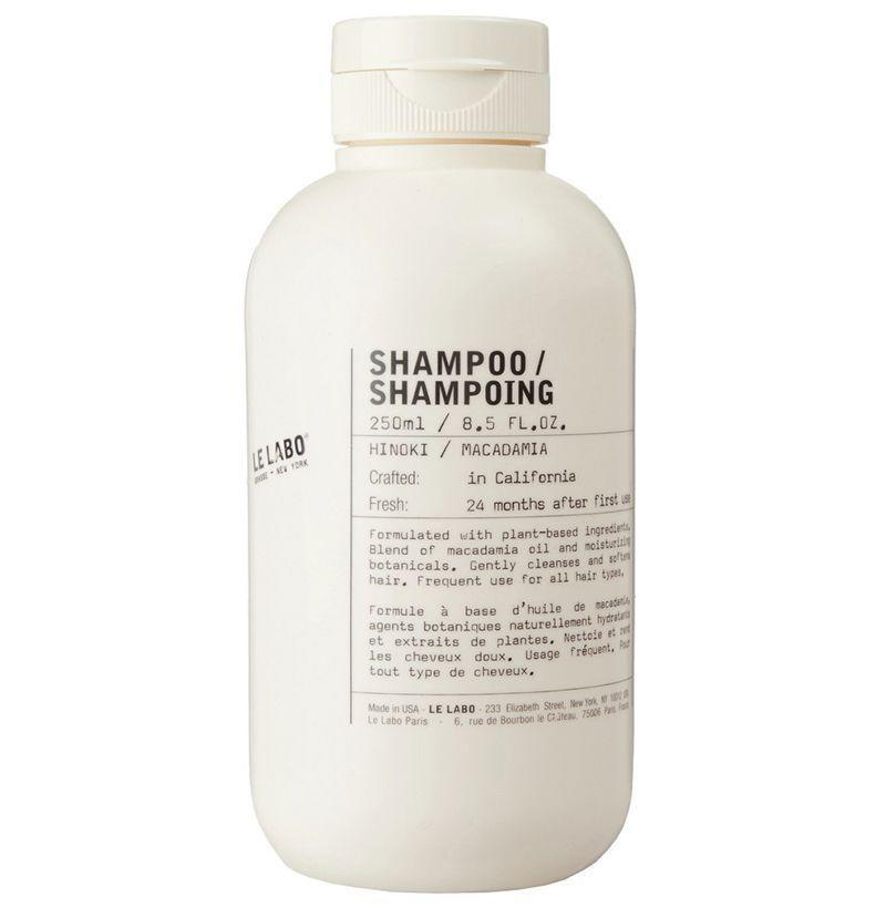 """<p><strong>Le Labo</strong></p><p>mrporter.com</p><p><strong>$28.00</strong></p><p><a href=""""https://go.redirectingat.com?id=74968X1596630&url=https%3A%2F%2Fwww.mrporter.com%2Fen-us%2Fmens%2Fle_labo%2Fhinoki-shampoo--250ml%2F1027114&sref=https%3A%2F%2Fwww.esquire.com%2Fstyle%2Fgrooming%2Fg19504376%2Fbest-shampoos-men%2F"""" rel=""""nofollow noopener"""" target=""""_blank"""" data-ylk=""""slk:Buy"""" class=""""link rapid-noclick-resp"""">Buy</a></p><p>Le Labo products always feel luxe, and rightfully so. The brand's shampoo is crafted with premium ingredients like macadamia oil and rice extract (mmm, tasty!) that clean your hair without disrupting its natural flow. </p>"""