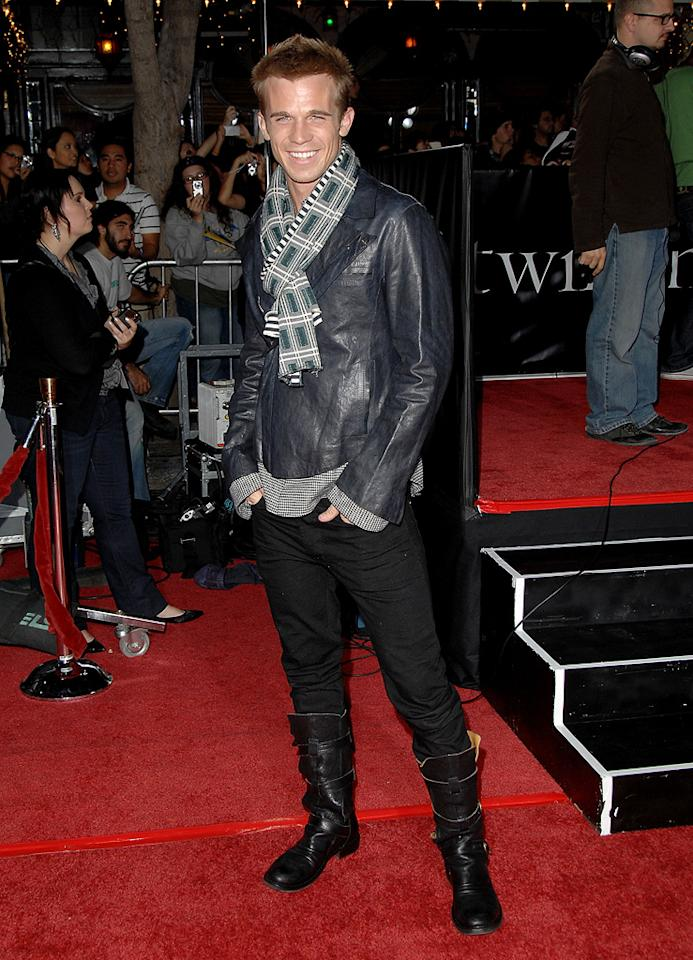 "<a href=""http://movies.yahoo.com/movie/contributor/1809903022"">Cam Gigandet</a> at the Westwood premiere of <a href=""http://movies.yahoo.com/movie/1810010670/info"">Twilight</a> - 11/17/2008"