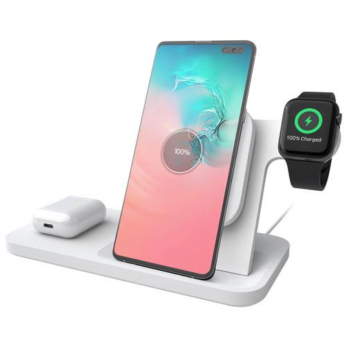 Logitech POWERED Qi Wireless Charging 3-in-1 Dock. Image via Best Buy.