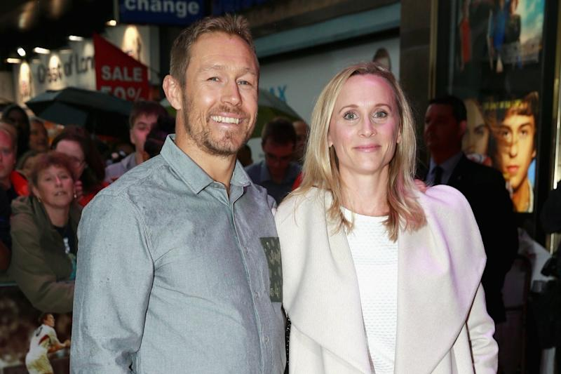 Raising awareness: Jonny Wilkinson and his wife Shelley have developed drinks that could boost well-being: Getty Images