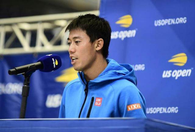 Japan's Kei Nishikori is among the lower seeds who could be a threat at the US Open (AFP Photo/Emilee Chinn)