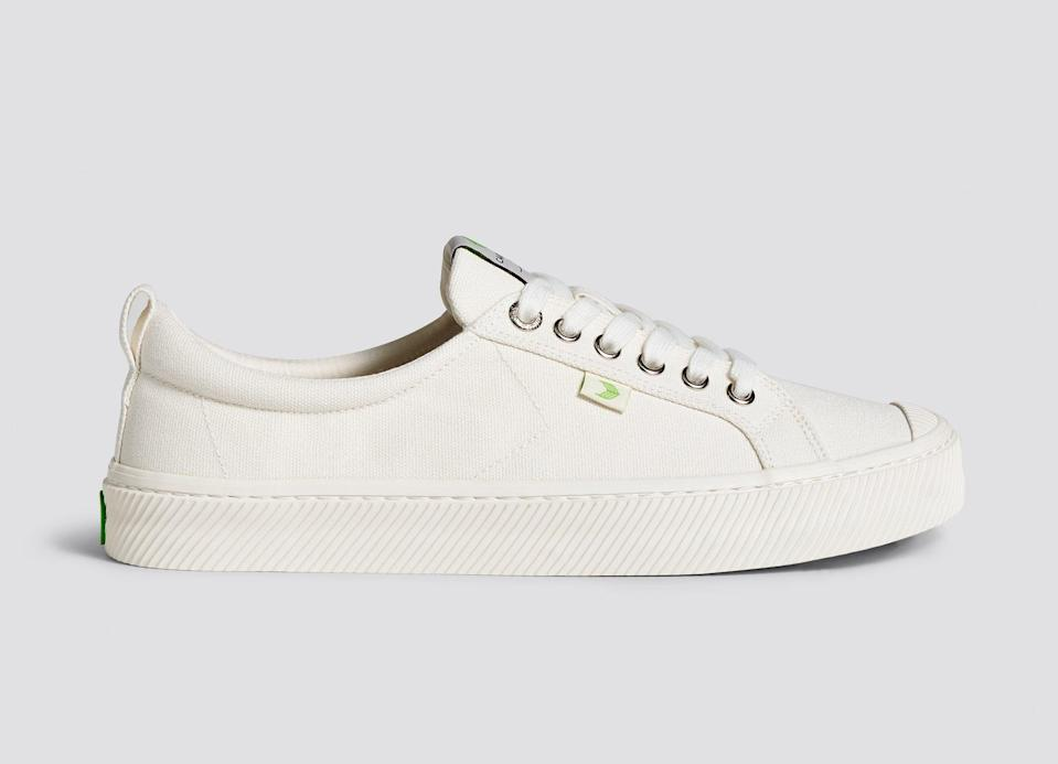 """<p>""""Technically these <span>Cariuma Off-White Canvas Sneakers</span> ($79) are off-white, but they have certainly been on heavy rotation. The vegan insoles are made from a soft, comfortable foam for better arch support - I can walk in these for hours without a problem."""" - Claire Stern, contributing editor, Fashion</p>"""