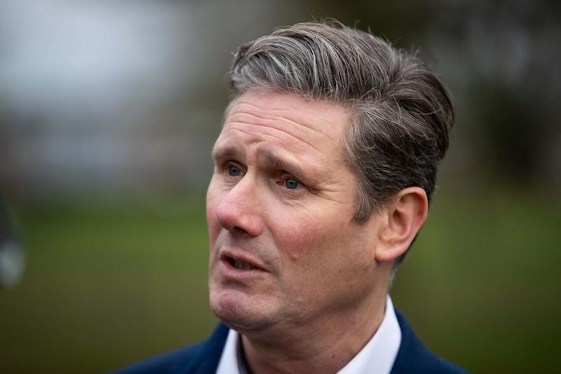Sir Keir Starmer is launching his leadership campaign in Manchester later today: PA